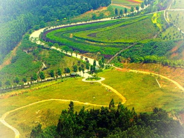 漳州十里蓝山趣味运动会场地